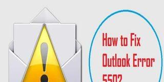 Fix Error 550 in Outlook